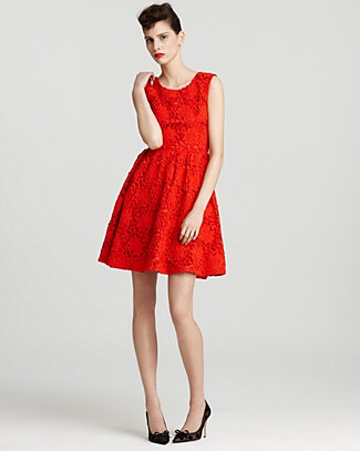 kate spade new york Selita Solid Lace Dress