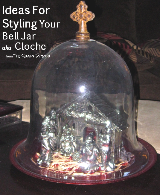 How To Style Your Bell Jar aka Cloche #belljar #cloche #glassdome #DIY