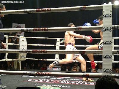 Thailand vs Challenger series 2012 Thailand vs Asia in Malaysia Muay Thai Madsua Lamai vs Mostafa Abdollahi