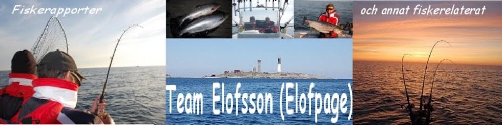 Fiskerapporter ifrån Team Elofsson
