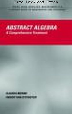 Free Download Abstract Algebra Book: