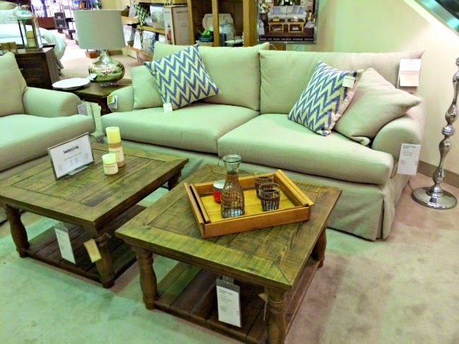 off at the mall for a party this week  and we walked through Dillard s  on the way  Have you seen their new Southern Living furniture collection. Dimples and Tangles  COME WINDOW SHOP WITH ME
