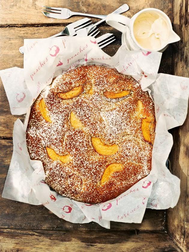 torta di pesche / peach cake