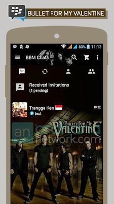 Preview BBM Bullet For My Valentine
