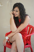 Saba Saudagar Glam photo shoot in red-thumbnail-11