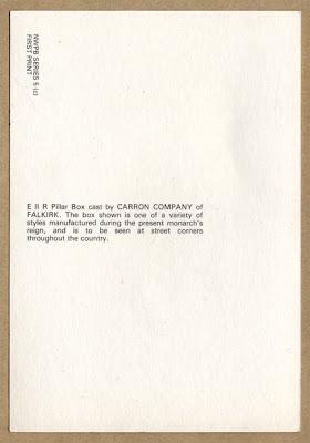 A Postcard from Homerton Hospital - back