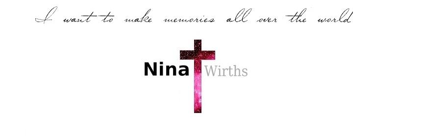 Nina Wirths   |  fashion, lifestyle, wanderlust
