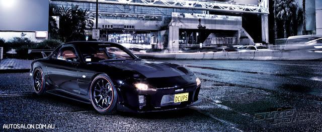 Mazda RX-7, FD, Wankel, rotary, twin turbo, zdjęcia, sportowy, samochód, japoński