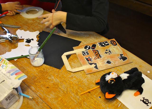 halloween crafting