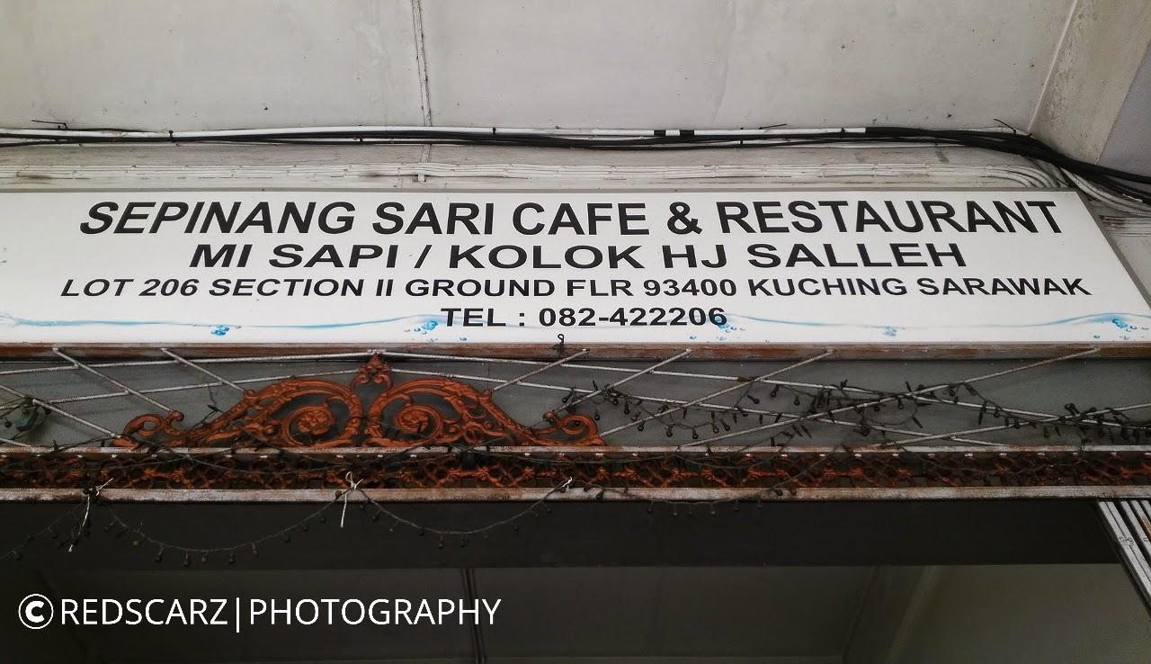 Mee Sapi | Mee Kolok Haji Salleh terkenal di Kuching