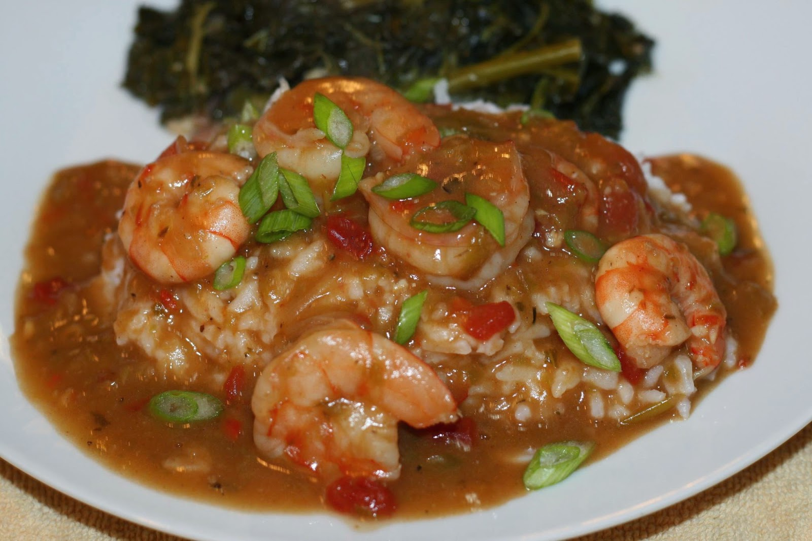 Shrimp Etouffee with Baklouti Agrumato Roux