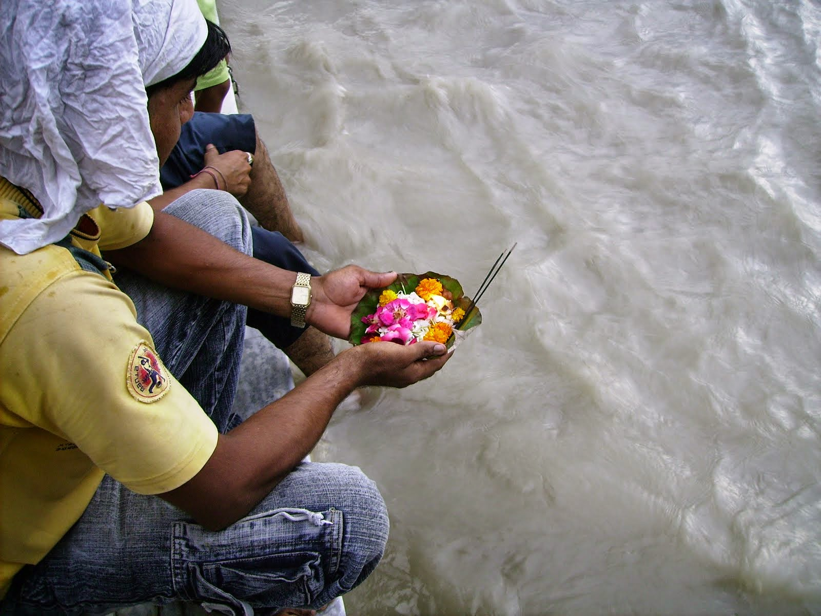 Sunset puja, Ganga Darshan
