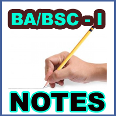 NOTES FOR 6TH, 7TH, 8TH, 9TH, 10TH, FA/FSC & BA/BSC