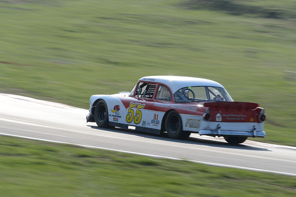 Jim Luehrs' Ford Tudor at Summit Point MARRS 1