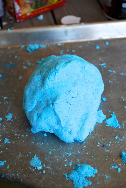 Foam dough playdough