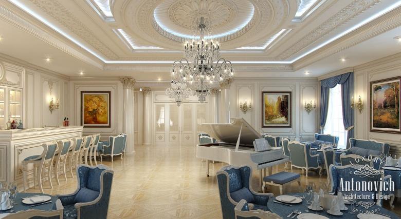 Luxury Antonovich Design Uae Restaurant Interior Design