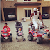 Photos: Peter Okoye Shows Off His Daughter, Fiona