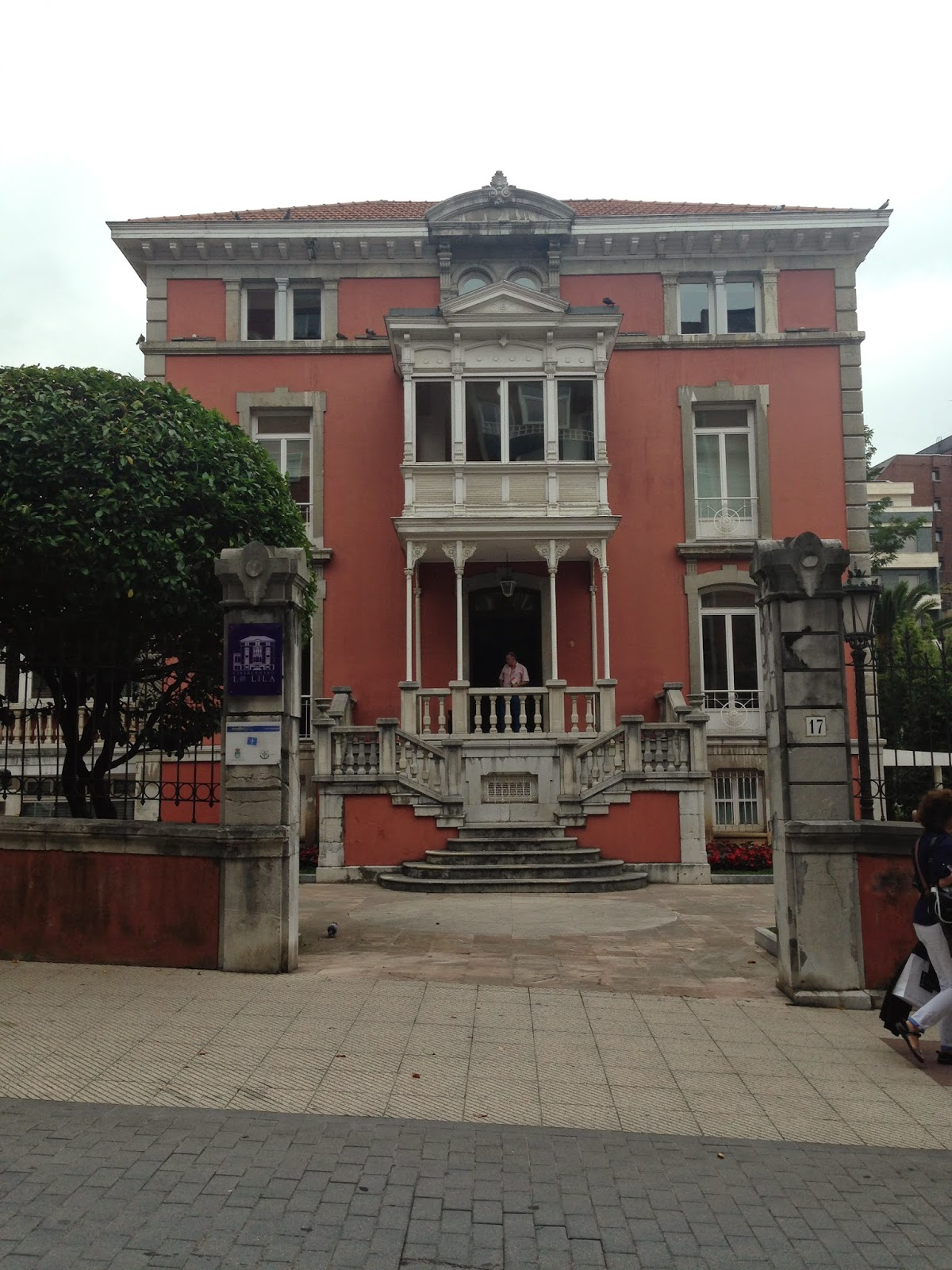 Patrimonio arquitect nico de asturias palacete de la lila - Arquitectos oviedo ...