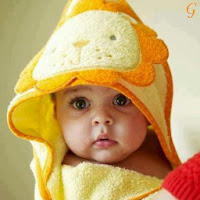 Cute Baby With Yellow Cap Kids Images