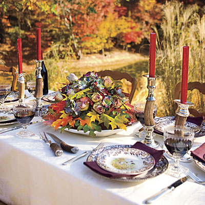 South Shore Decorating Blog: Inspiring Thanksgiving Table Ideas
