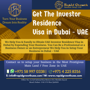 Residence Visa in Dubai - UAE