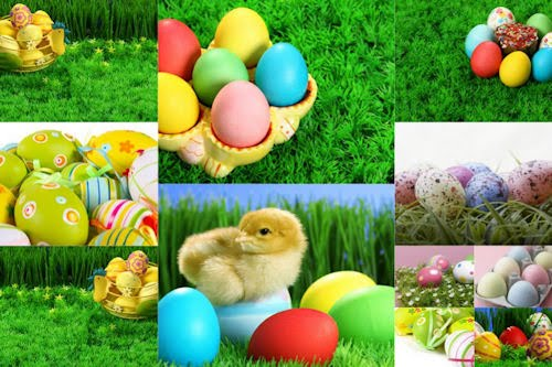 Huevos de pascua - Easter Eggs - Wallpapers