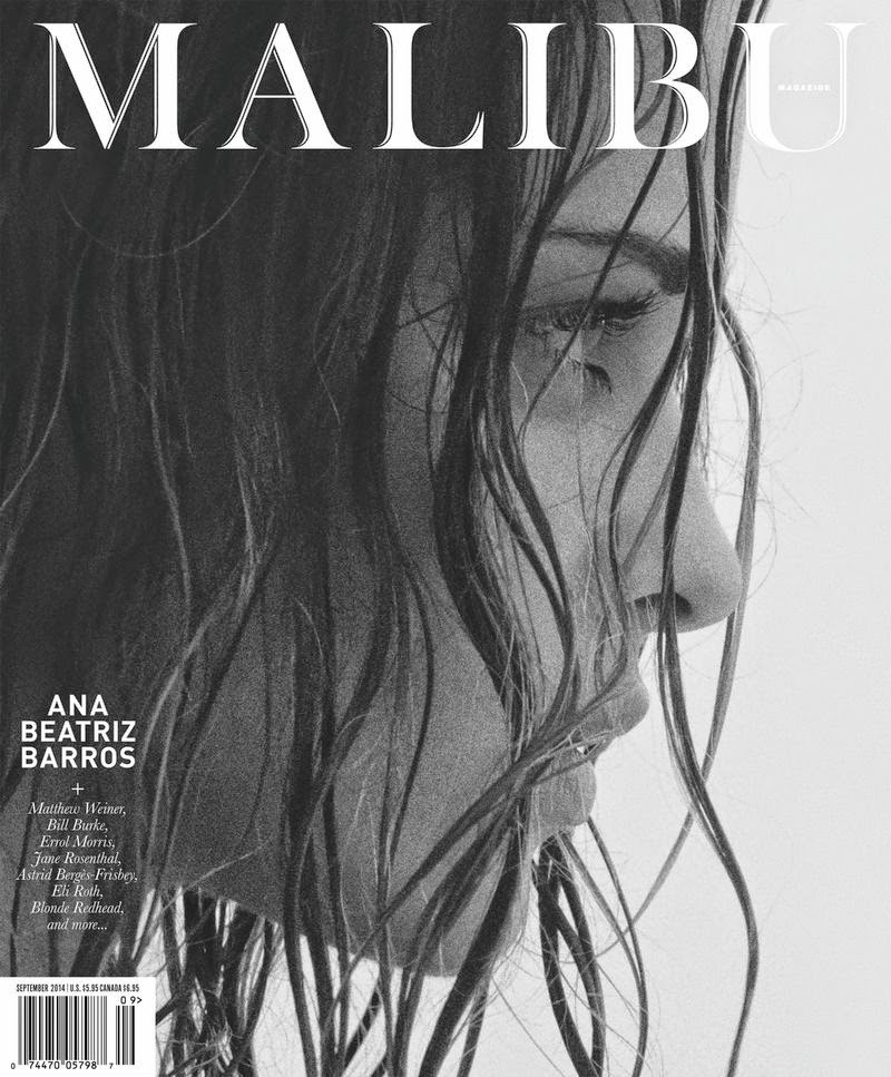 Ana Beatriz Barros by Jason Lee Parry for Malibu Magazine, August/September 2014