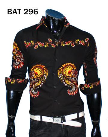 Jual Baju Kemeja Batik Online – BAT 296