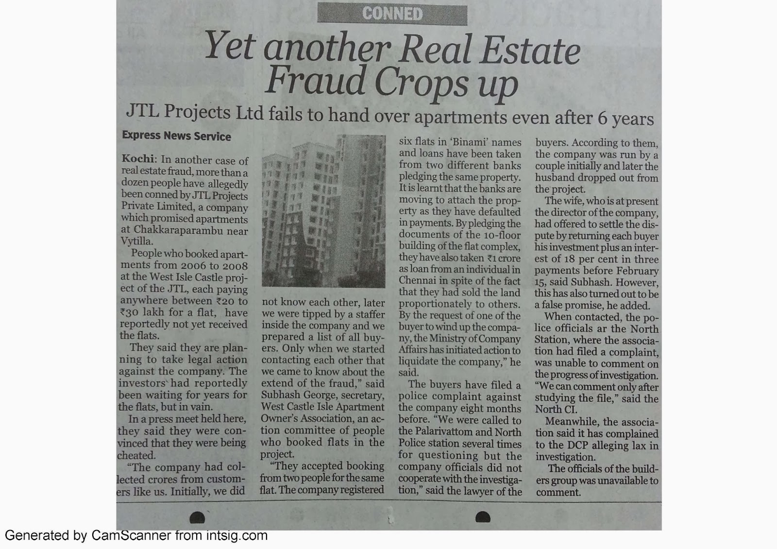 They are also consumers......Apartment owners waiting for completion indefinite...