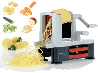 """Кабачок """"Спагетти"""" со шпинатом Песто (Zucchini """"Spaghetti"""" with Spinach Pesto)"""