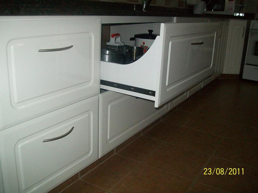 Muebles Para Baño LaqueadosMUEBLE DE COCINA LAQUEADO BLANCO