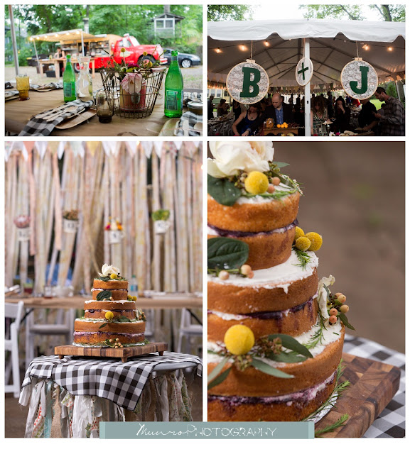 boho wedding, michigan
