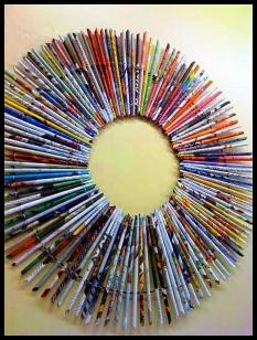 Hiasan dari koran bekas saung silaturahmi daur ulang kertas saung silaturahmi daur ulang kertas thecheapjerseys Gallery