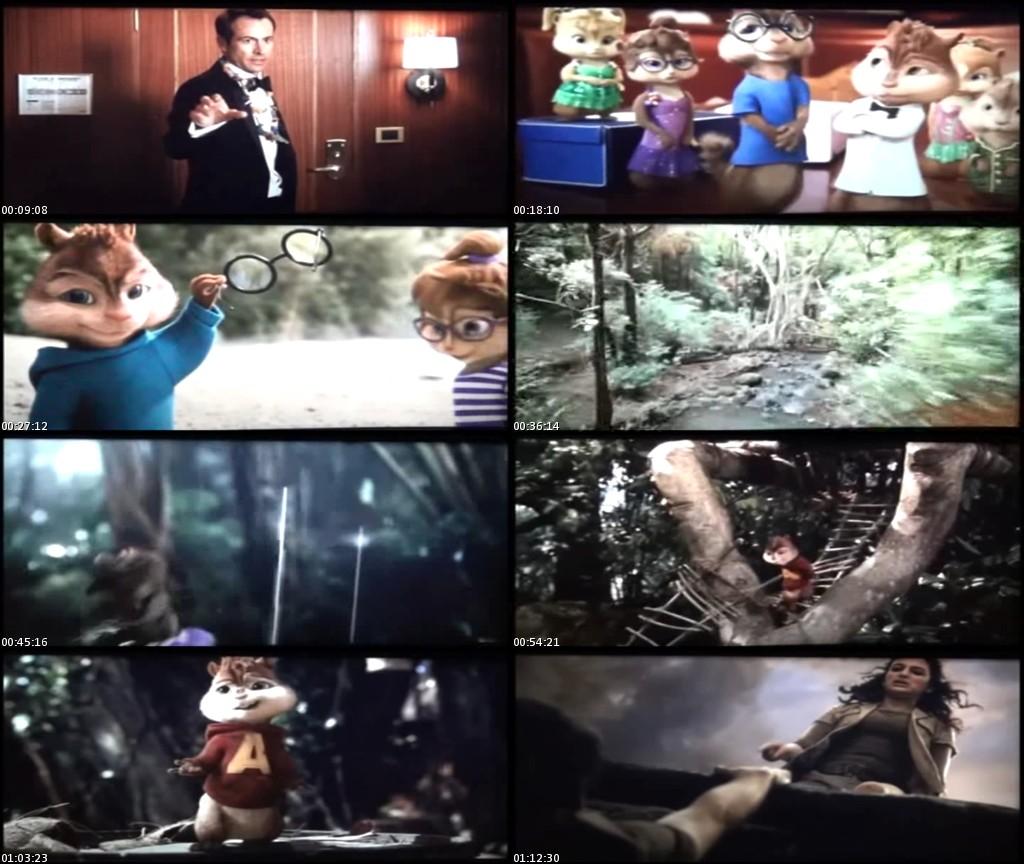 Alvin y las ardillas 3 (2011) [TScreener HQ] [Latino]