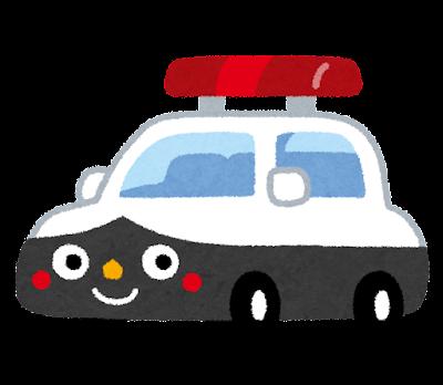 パトカーのキャラクター