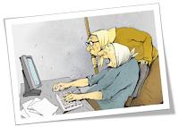 бабушки у компьютера