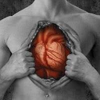 Coração no peito