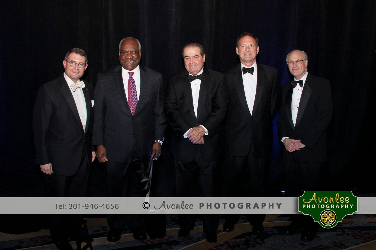 Supreme Court Justices, Thomas, Scalia, and Alita, Federalist Society, Washington DC, Event Photographer