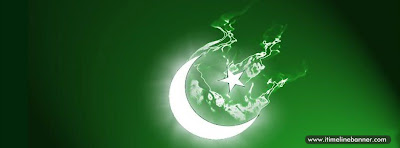 Flag of Pakistan Facebook Timeline Cover