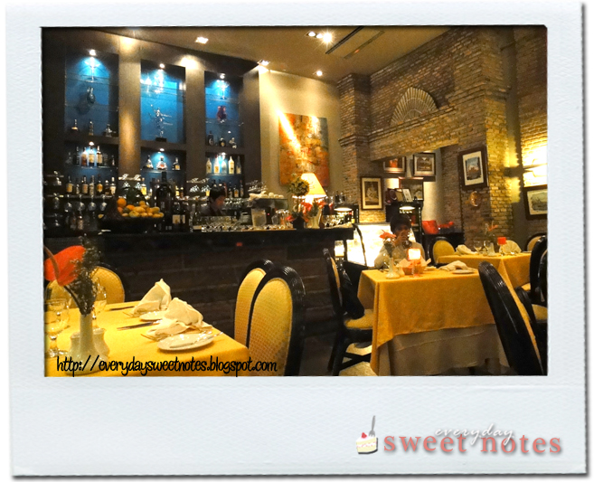 Interior of Italian Restaurant