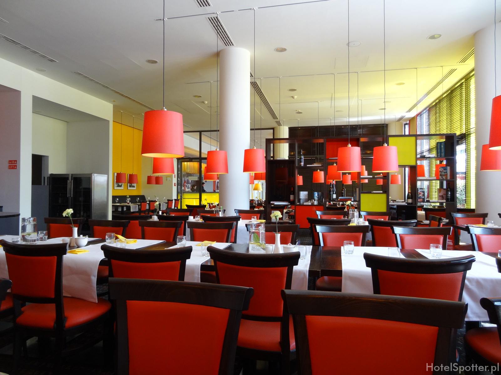 angelo Hotel Katowice - hotelowa restauracja