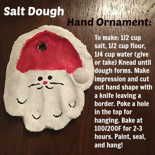 Keep calm and carry on diy salt dough hand ornament diy salt dough hand ornament solutioingenieria Gallery