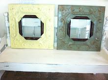 Tin Frames- SOLD
