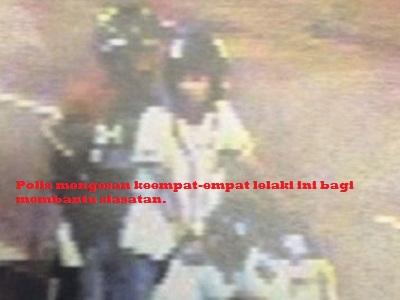 POLIS SEDANG BURU 4 LELAKI INI !!!