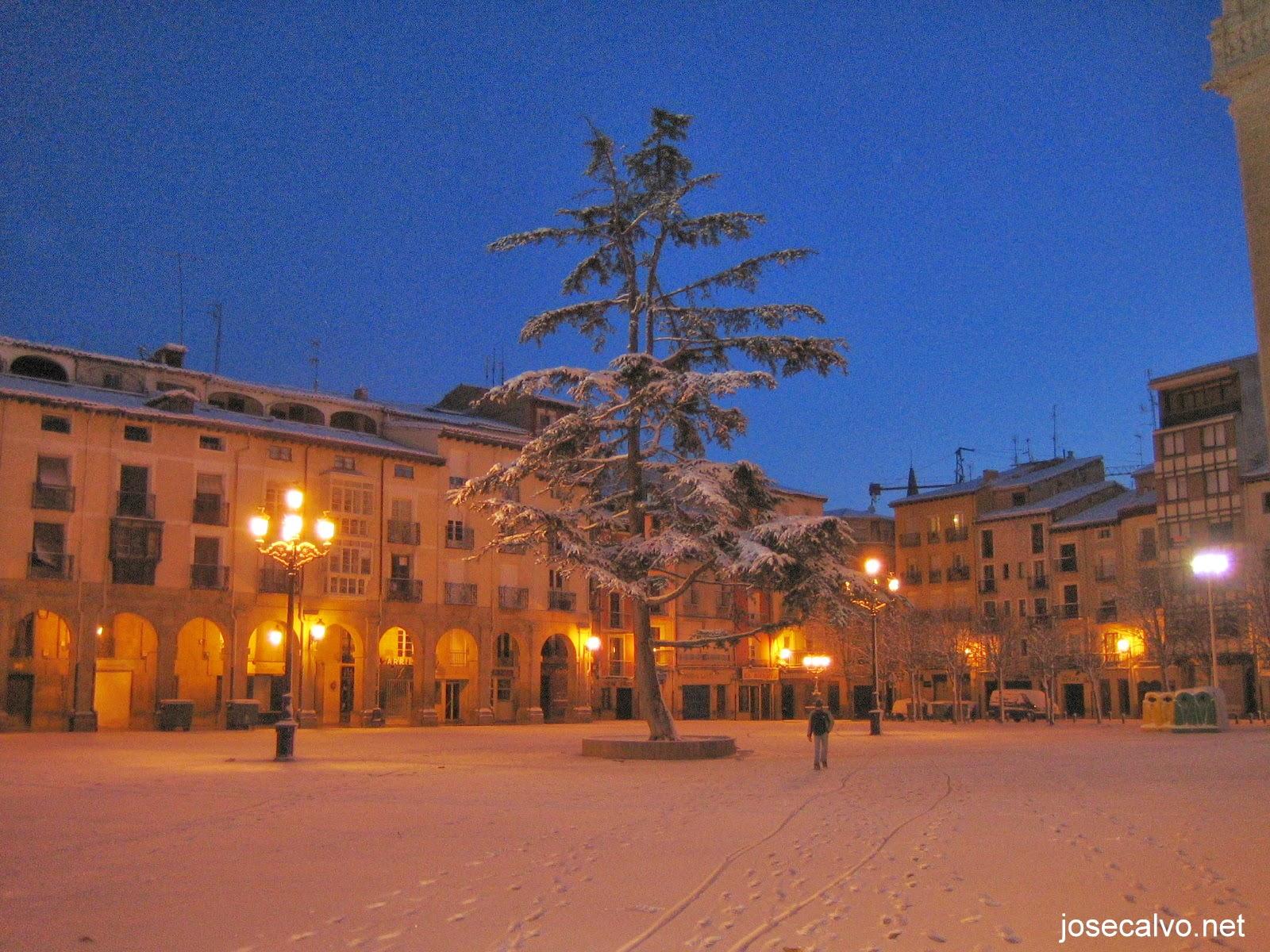 Nieve en logro o aquel 25 de enero hoy hace 9 a os a mal tiempo buena cara blogs - Cristalerias en logrono ...