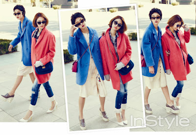 Go Joon Hee and Kang So Young - InStyle Magazine November Issue 2013