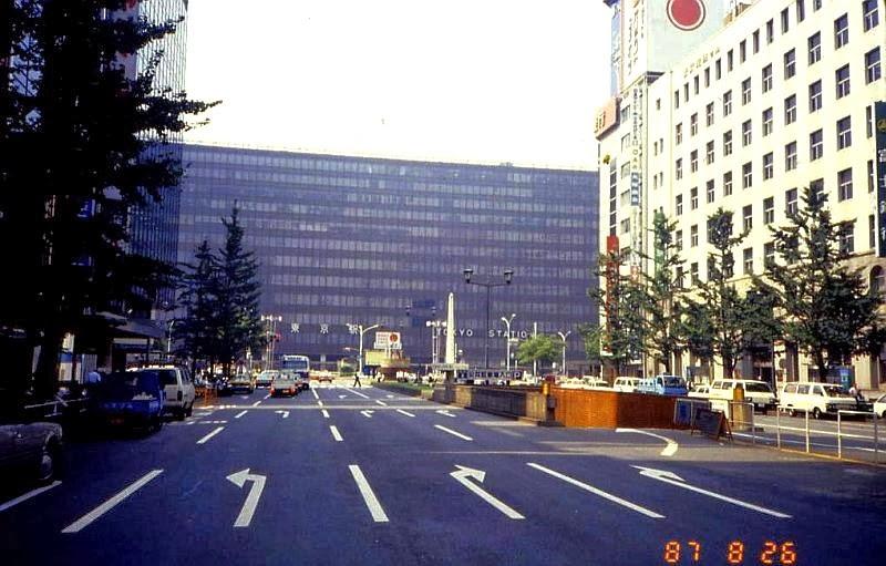 東京駅 八重洲側 80年代