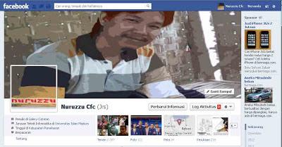 Membuat Foto Sampul Facebook Menyatu dengan Foto Profil