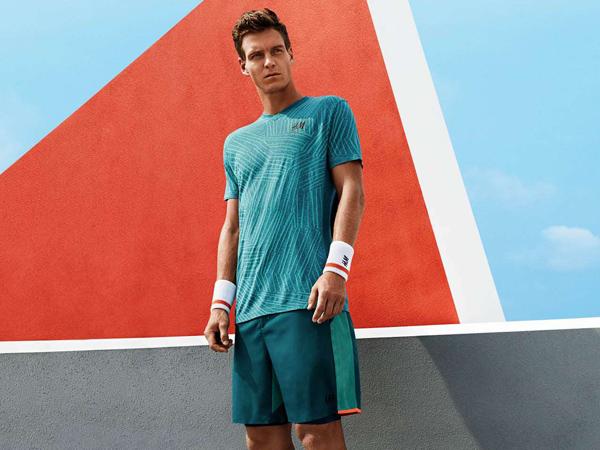 Tomas Berdych HM 2015 colección ropa tenis