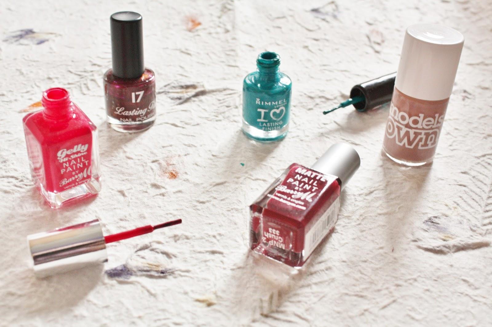 Autumn 2014 Nail Polish Picks